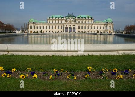 Le Palais du Belvédère, Vienne, Autriche