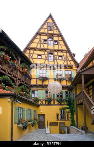 Deutschland, Bayern, Dinkelsbuehl, vieille ville de Dinkelsbuehl, Bavière, Allemagne Banque D'Images