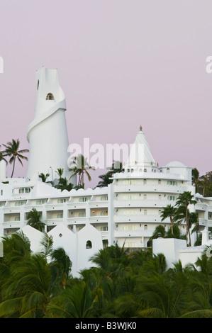 Manzanillo, Colima, Mexique. Brisas Las Hadas Resort / Dawn Banque D'Images