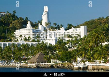 Manzanillo, Colima, Mexique. Brisas Las Hadas Resort / matin Voir Banque D'Images