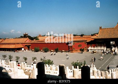 Géographie / voyage, Chine, Pékin, palais de l'empereur dans la cité interdite, l'UNESCO, Site du patrimoine mondial,