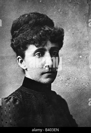 Eugénie, 5.5.1826 - 11.7.1920, Empress Consort de France 30.1.1853 - 4.9.1870, portrait, vers 1875, Banque D'Images