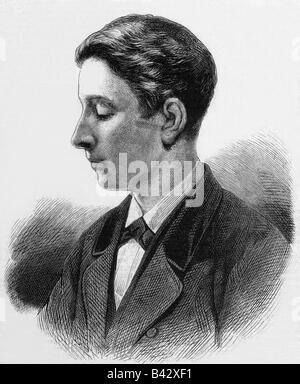 Bonaparte, Napoléon Eugene Louis, 16.3.1856 - 1.6.1879, portrait, gravure en bois, vers 1875, Banque D'Images