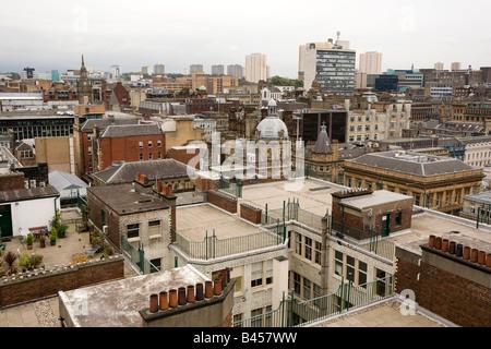 UK Scotland Glasgow Mitchell Lane une vue sur la ville du phare