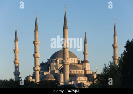 Mosquée bleue istanbul Banque D'Images