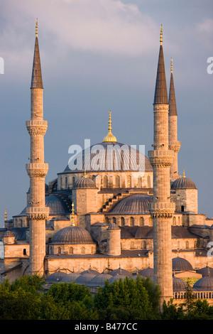 Mosquée Sultan Ahmed Mosquée Bleue Istanbul Turquie Banque D'Images