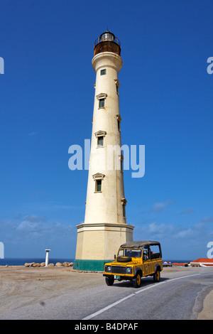 Antilles Bonaire Antilles Aruba phare California Banque D'Images