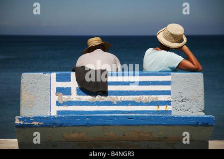 Plus de soucis pour la Grèce lors de l'euro? Banque D'Images