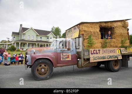 4 juillet Lopez Island îles San Juan l'État de Washington Banque D'Images