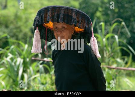 Akkha gens de nouveaux territoires Hong Kong Chine Asie Banque D'Images