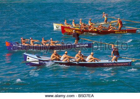 hommes et un surf life saving rowing boat on beach un carnaval de surf coogee sydney. Black Bedroom Furniture Sets. Home Design Ideas