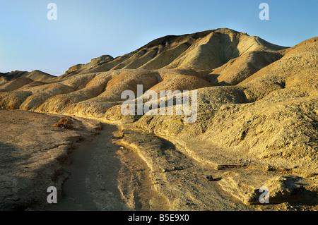 Paysage de la vallée de la mort Mational Park, Californie, d'Inyo Banque D'Images