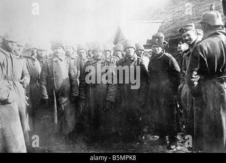 9 1916 318 A1 14 Bataille de Postawy Russ 1916 prisonniers de guerre mondiale 1 Front de l'est la défaite des troupes russes après une offen sive o