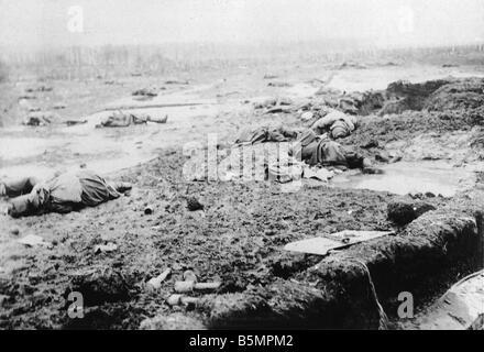 9 1916 318 A1 4 E Bataille de Postawy 1916 champ de bataille de la Première Guerre mondiale, Front de l'est la défaite des troupes russes après l'offensive ag