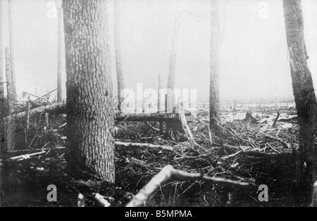 9 1916 318 A1 6 E Bataille de Battlefield 1916 Postawy World War 1 Front de l'est la défaite des troupes russes après une offen sive sur