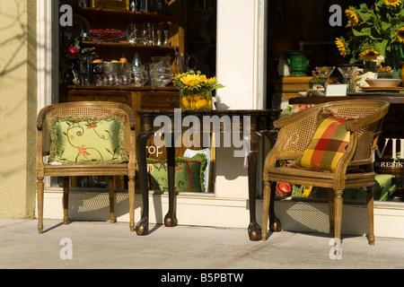 Park Avenue Winter Park City Orlando Florida USA Banque D'Images