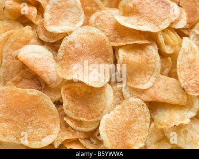 Chips de pomme de terre Banque D'Images