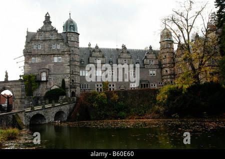 Haemelschenburg château, Basse-Saxe, Allemagne