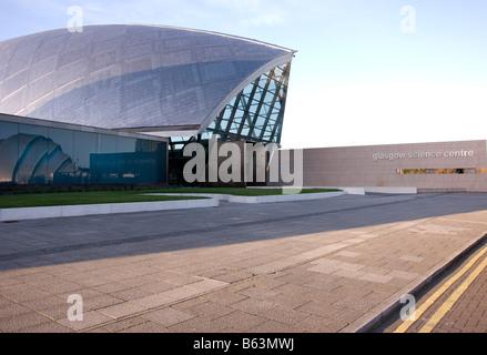 Glasgow Science Centre Pacific Quay Govan Glasgow Ecosse Royaume-Uni Royaume-Uni Banque D'Images
