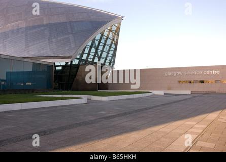 Glasgow Science Centre Pacific Quay Banque D'Images