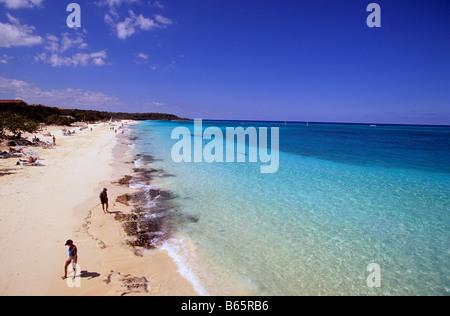 Cuba Guardalavaca holguin province Playa Esmeralda Banque D'Images