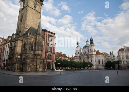 Horloge astronomique de Prague Banque D'Images