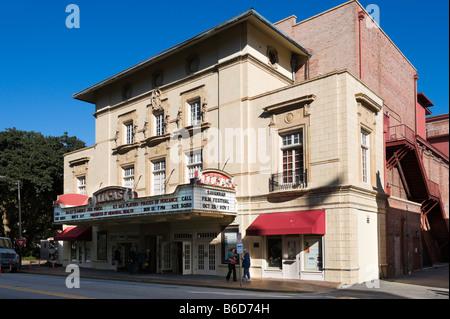 Le théâtre Lucas, datant de 1921 Abercorn Street, Savannah, Georgia, USA Banque D'Images