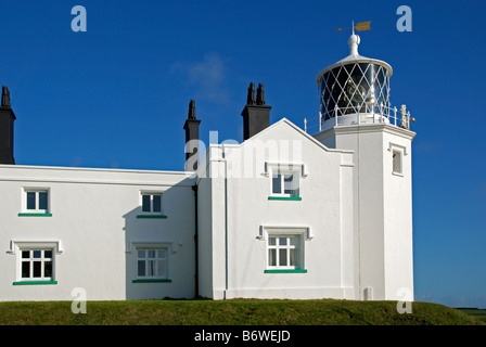Le phare de cap Lizard, Cornwall, Angleterre, Royaume-Uni Banque D'Images