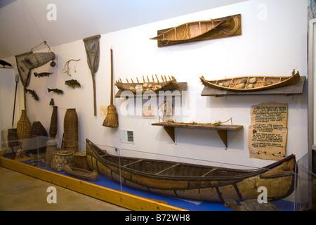 Kearsarge Indian Museum et centre culturel de l'éducation situé à Warner FRANCE Banque D'Images
