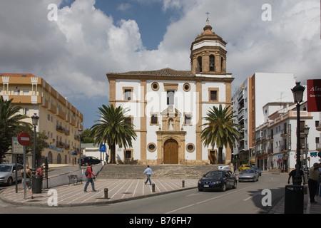 Merced couvent de carmélites à Ronda, Andalousie, Espagne Banque D'Images