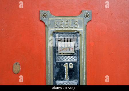 Distributeur automatique de timbres anciens, à Pilgrim's Rest, Afrique du Sud