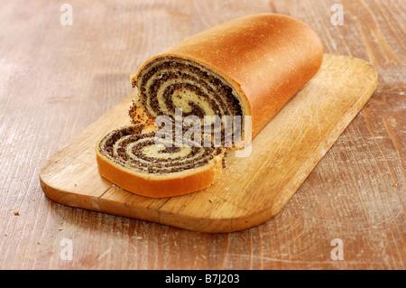 Still Life of pain pavot dans la cuisine Banque D'Images