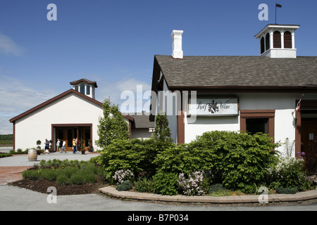 Reif Estate Winery, Niagara-on-the-Lake, Ontario, Canada Banque D'Images