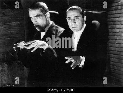 Le Chat Noir Année: 1934 USA Boris Karloff, Bela Lugosi Réalisateur: Edgar G. Ulmer