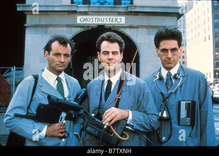 Ghostbusters USA Année: 1984 Réalisateur: Ivan Reitman Bill Murray, Dan Aykroyd, Harold Ramis Banque D'Images