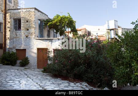 Maison avec grande terrasse à Lefkara, sud de Chypre