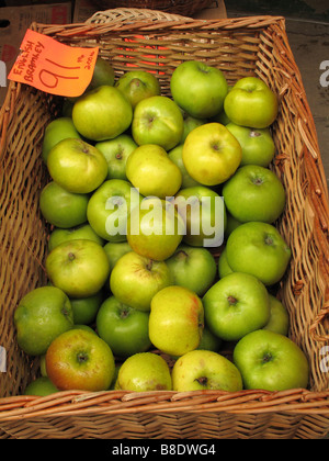 Bramley apples Banque D'Images