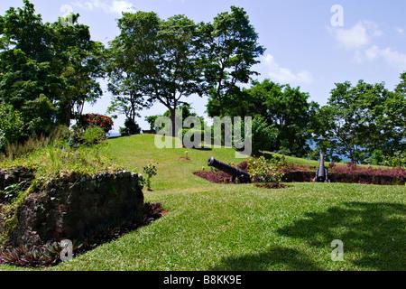 Fort Bennett, Tobago, Trinité-et-Tobago, des Caraïbes