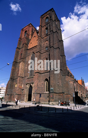 Pologne, Wroclaw, Eglise St Mary Magdalene Banque D'Images