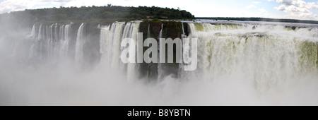 Panorama de l'Iguazu, Argentine Banque D'Images
