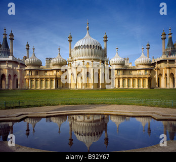 Pavillon de Brighton, Brighton, East Sussex, Angleterre, Royaume-Uni. Banque D'Images
