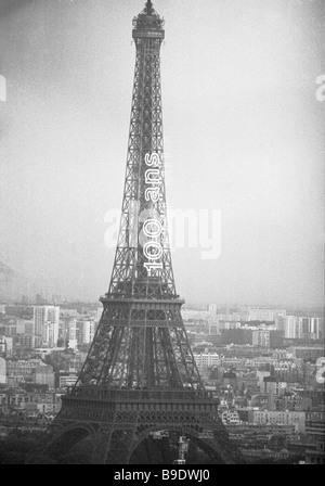 La Tour Eiffel Eiffel Tower in Paris