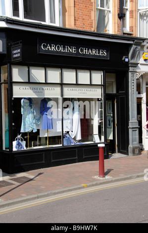 377871da26e Caroline Charles womenswear store Tunbridge Wells Kent England UK Banque  D Images