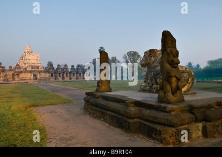 Temple Kailasanatha Tamil Nadu Inde Kanchipuram