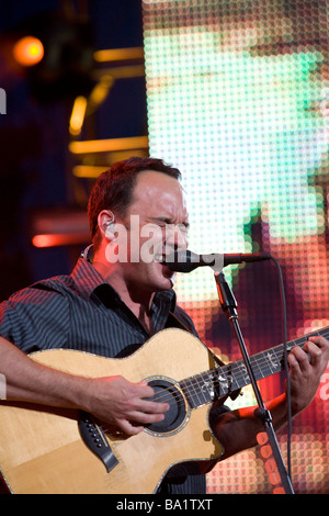 Dave Matthews en prestation au Mile High Music Festival à Denver Banque D'Images