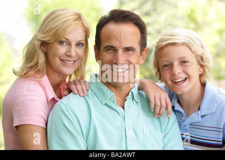Couple et leur fils