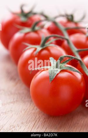 Bouquet de tomates fraîches Banque D'Images