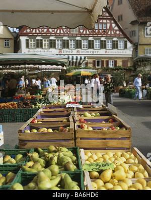 Len Esslingen kielmeyer haus au marché esslingen bade wurtemberg allemagne