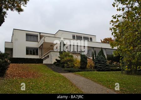 La villa Tugendhat, Brno, République tchèque, Bruenn Banque D'Images