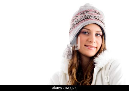 Portrait de jeune femme Banque D'Images